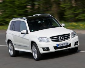 Mercedes-Benz Classe GLK � contre-courant