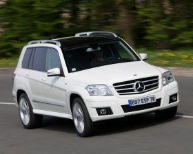 Mercedes-Benz Classe GLK I (X204) À contre-courant