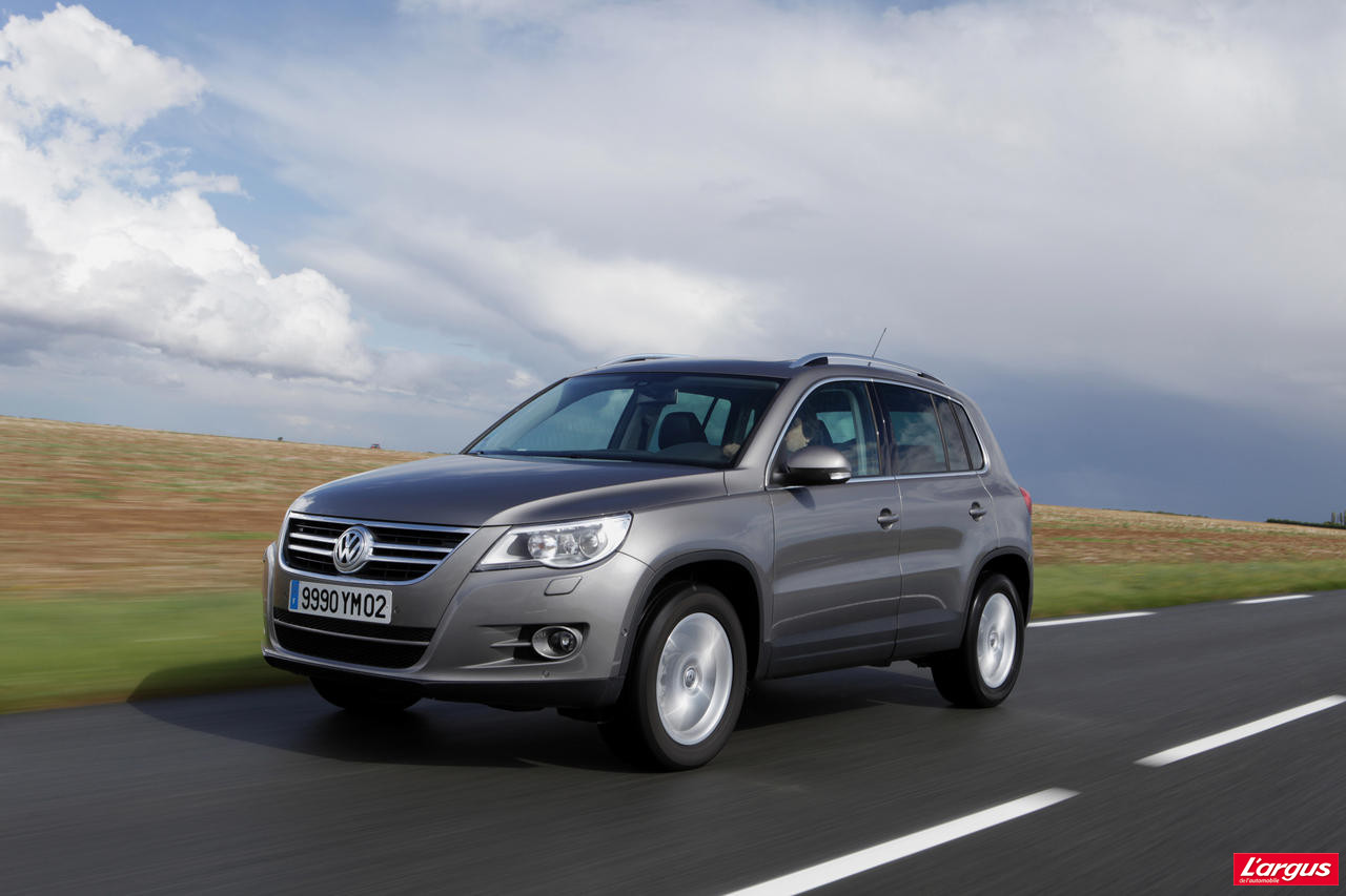 volkswagen tiguan diesel d gonfl photo 1 l 39 argus. Black Bedroom Furniture Sets. Home Design Ideas