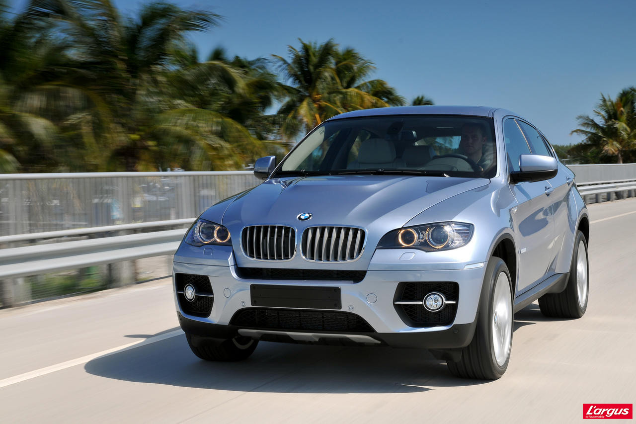 le bmw x6 activehybrid tire sa r v rence en toute. Black Bedroom Furniture Sets. Home Design Ideas