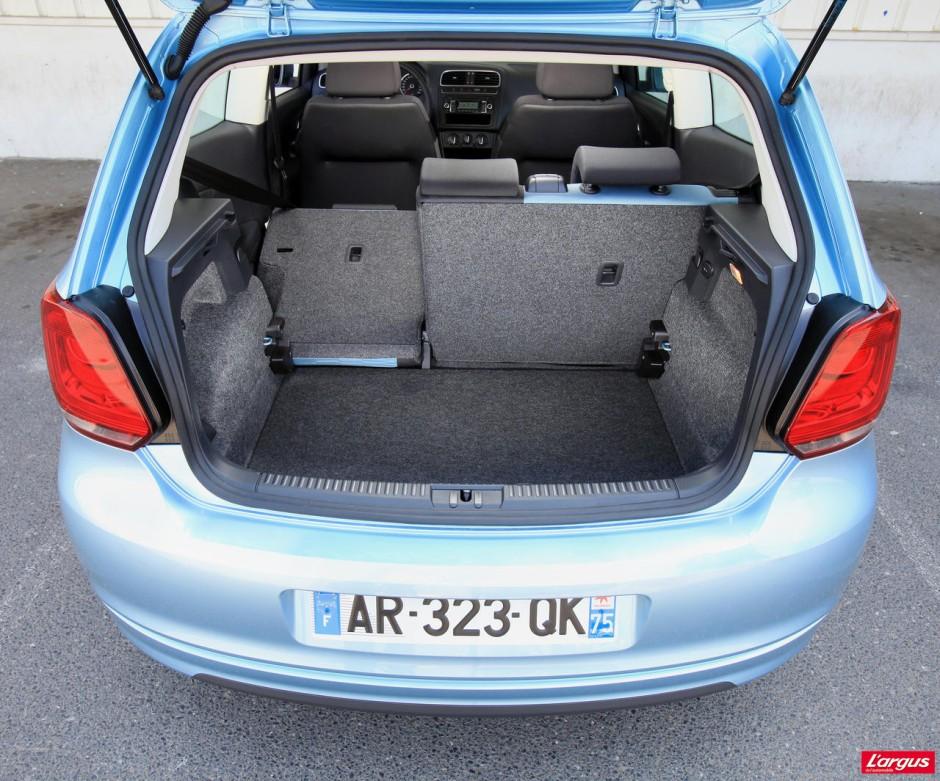 volkswagen polo 1 2 tdi bluemotion 1000 km avec le plein photo 9 l 39 argus. Black Bedroom Furniture Sets. Home Design Ideas