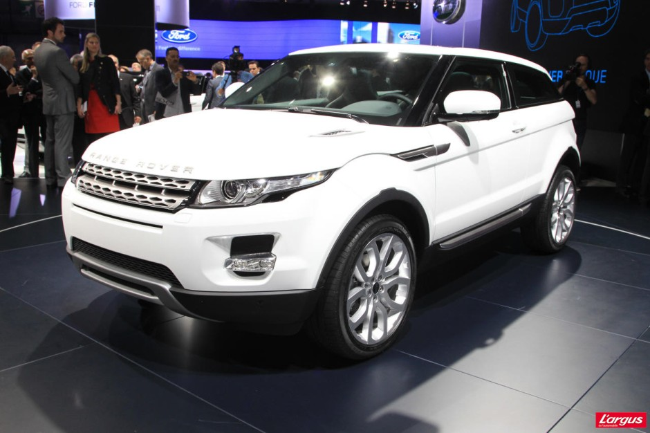 land rover evoque tarifs haut de gamme photo 2 l 39 argus. Black Bedroom Furniture Sets. Home Design Ideas