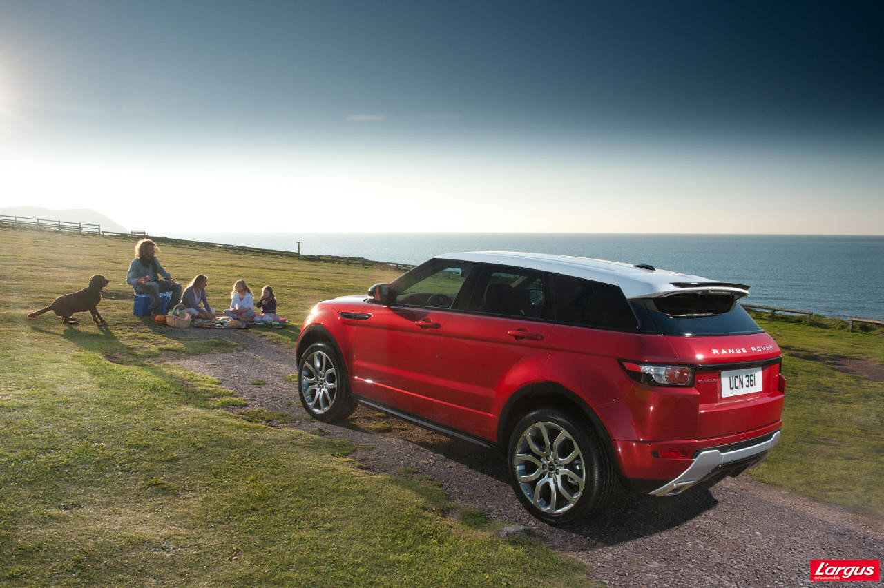 land rover evoque tarifs haut de gamme photo 4 l 39 argus. Black Bedroom Furniture Sets. Home Design Ideas