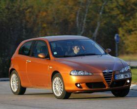 Alfa-Romeo 147 �l�gante, mais capricieuse