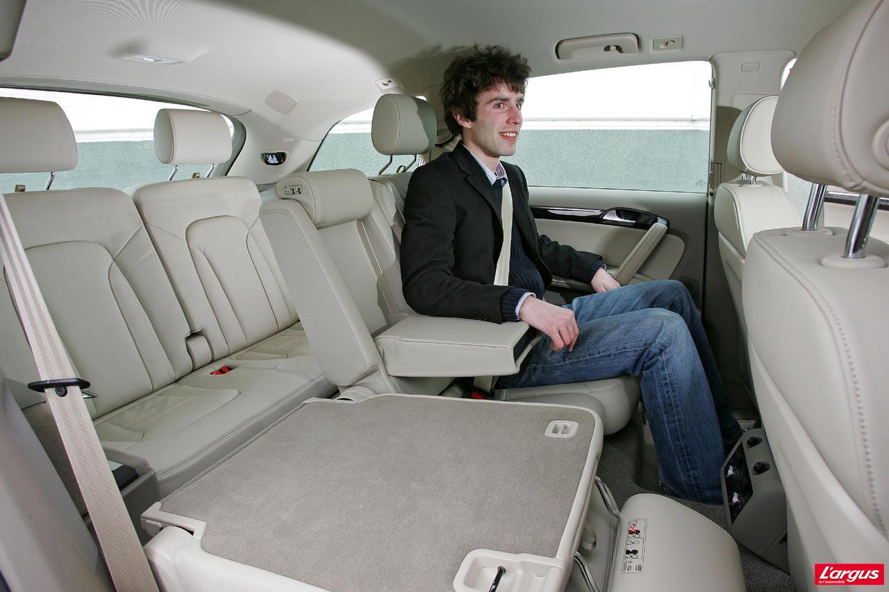 Audi Q7 Vie à bord