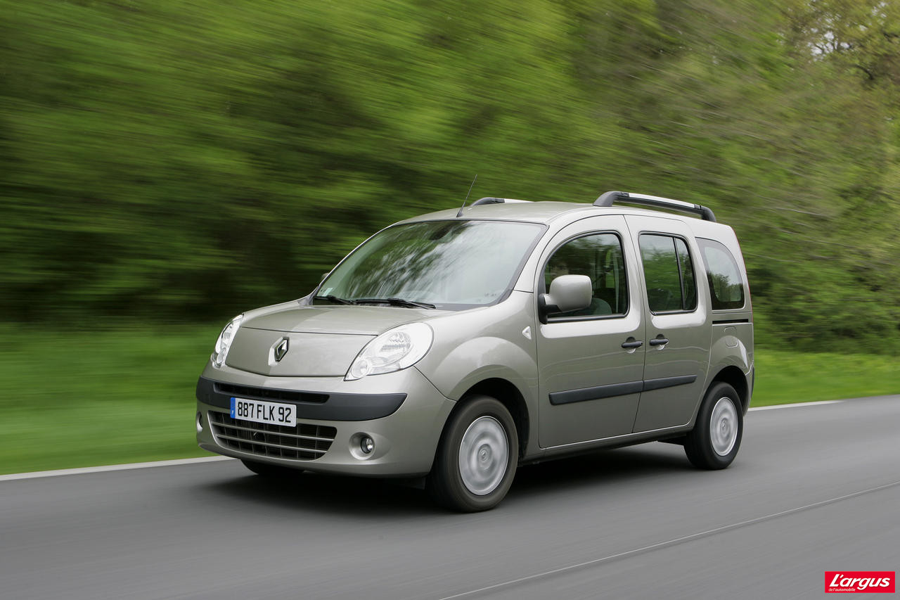 actualit renault kangoo l argus. Black Bedroom Furniture Sets. Home Design Ideas