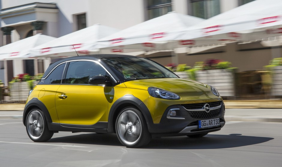 essai opel adam rocks 1 0 turbo ecotec des envies d 39 vasion photo 5 l 39 argus. Black Bedroom Furniture Sets. Home Design Ideas