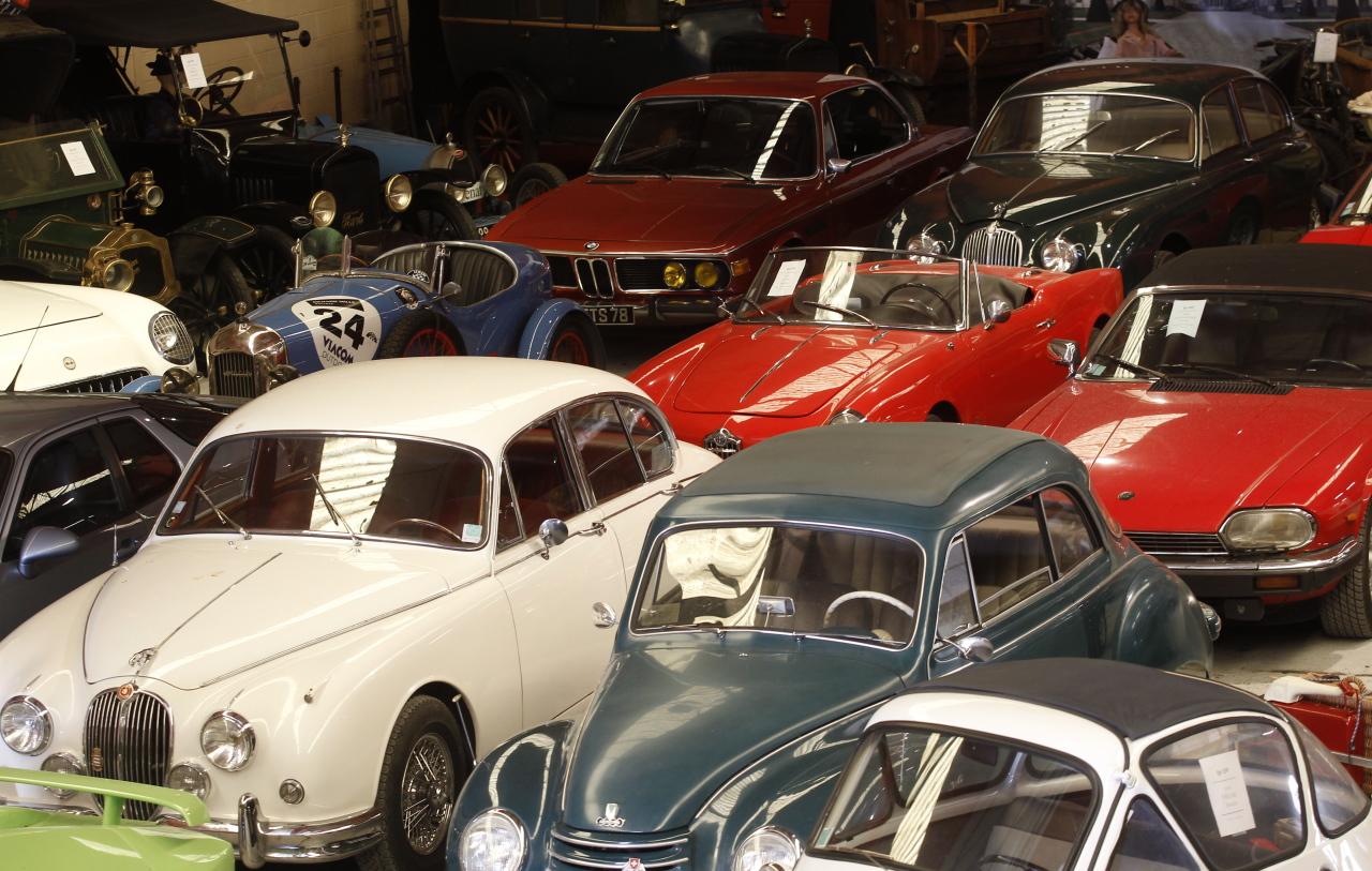 Les voitures de collection un bon placement l 39 argus for Garage qui reprend les voitures en panne