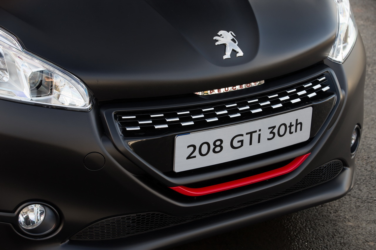 essai peugeot 208 gti 30th hommage sportif la 205 gti photo 35 l 39 argus. Black Bedroom Furniture Sets. Home Design Ideas