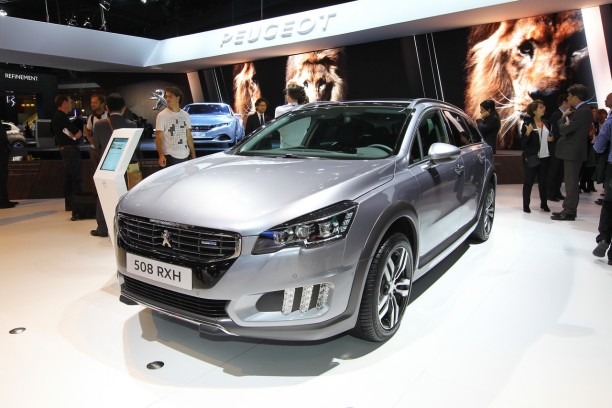 mondial auto 2014 vid o et photos peugeot 508 rxh 2 0 bluehdi l 39 argus. Black Bedroom Furniture Sets. Home Design Ideas