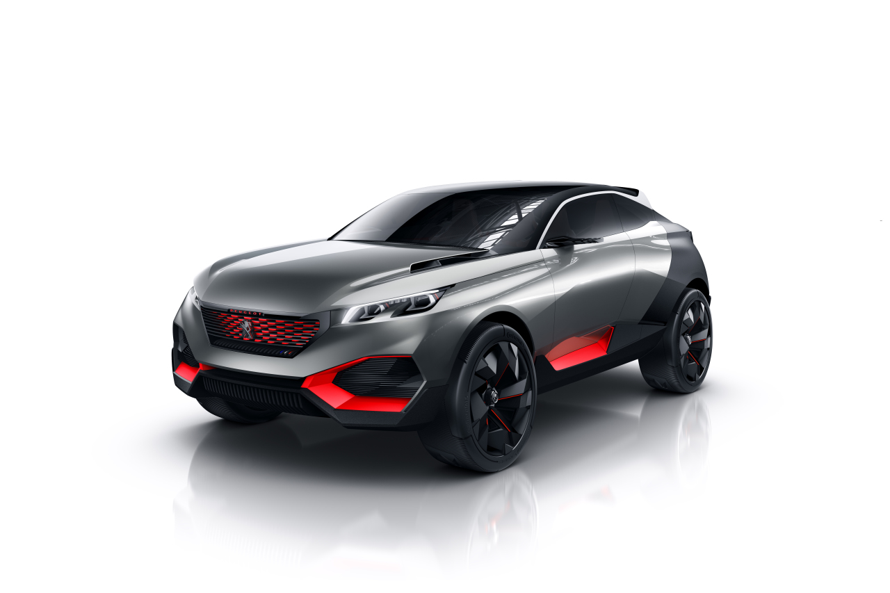 peugeot quartz concept 2014 le futur 3008 se pr cise l 39 argus. Black Bedroom Furniture Sets. Home Design Ideas