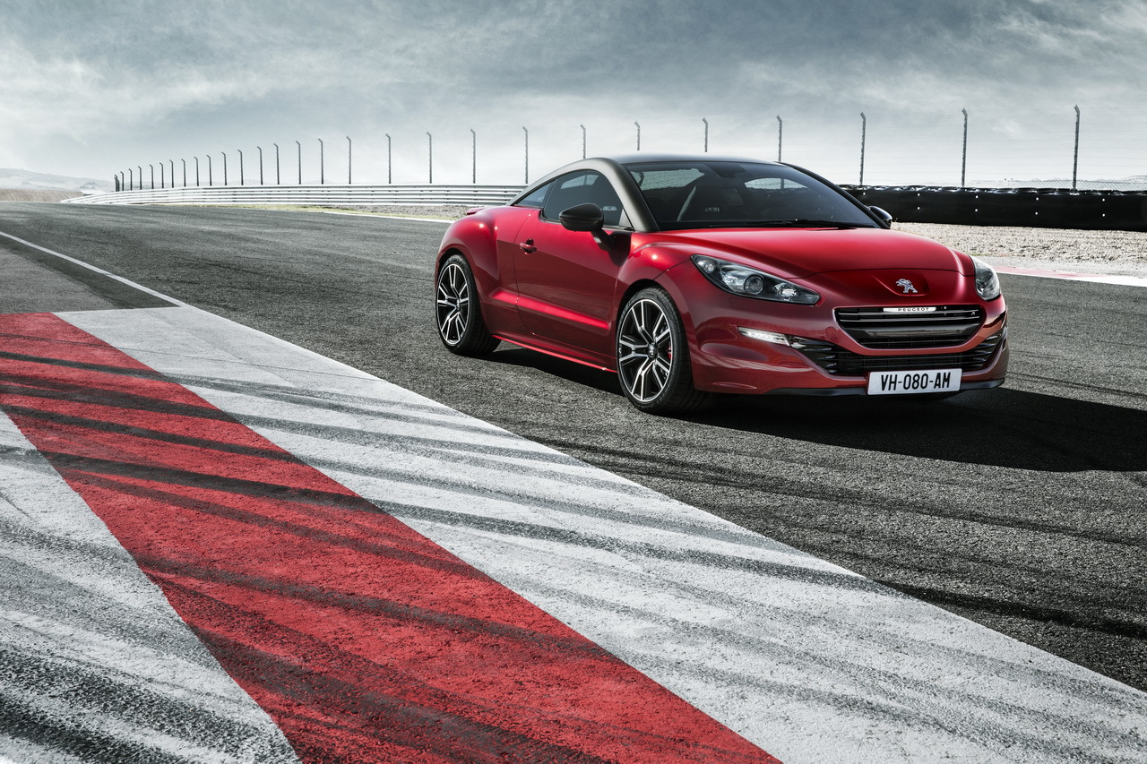 video la plus puissante des peugeot la rcz r s 39 exprime. Black Bedroom Furniture Sets. Home Design Ideas