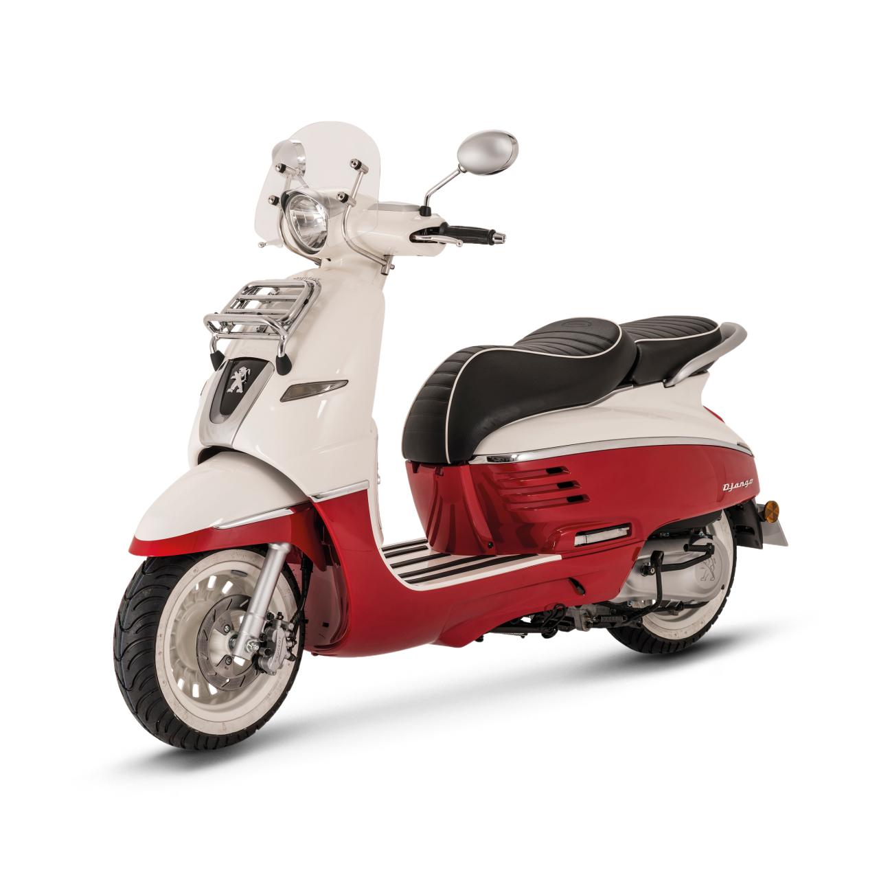 nouveaut scooter 2014 peugeot django le n o r tro la fran aise l 39 argus. Black Bedroom Furniture Sets. Home Design Ideas