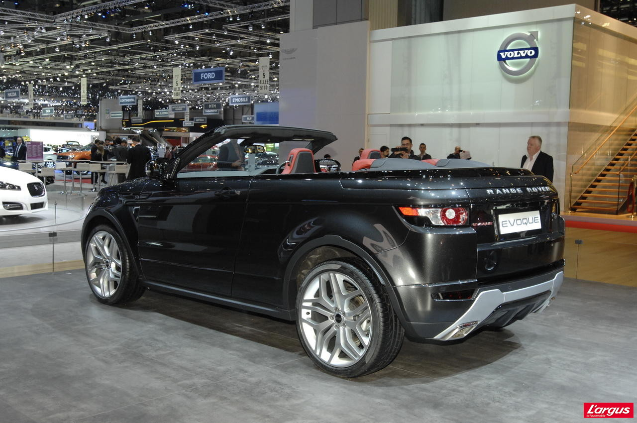 evoque cabriolet l 39 exclusivit ultime land rover. Black Bedroom Furniture Sets. Home Design Ideas
