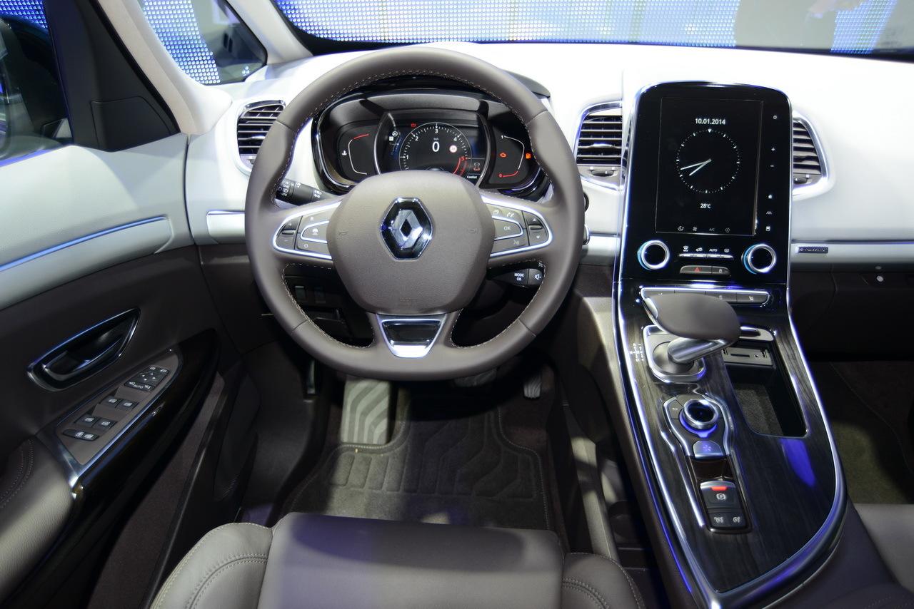 Renault Espace V : photos et vidéos Espace 2015 au Mondial ...