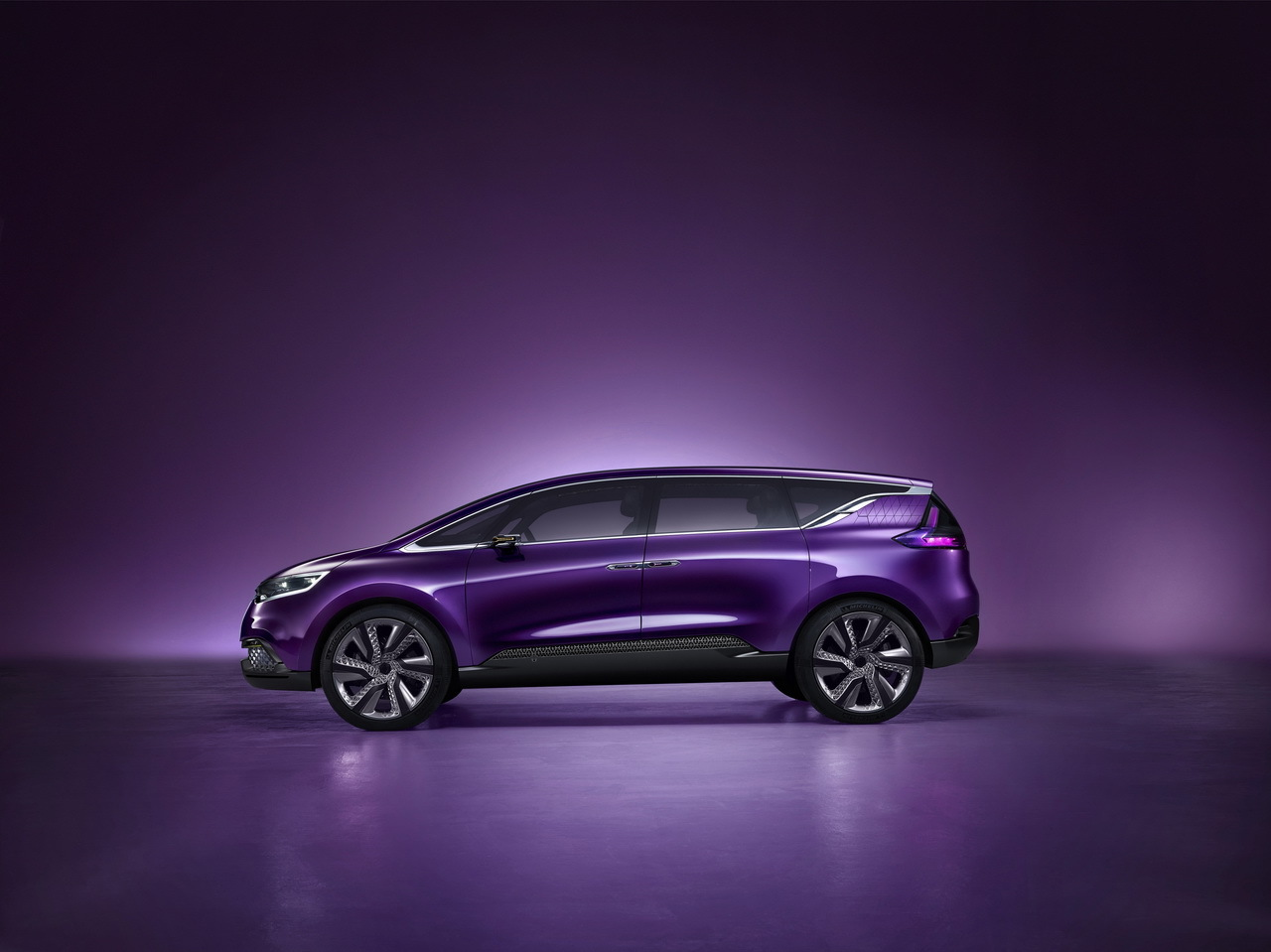renault espace photos et vid o du concept initiale paris le futur renault espace salon de. Black Bedroom Furniture Sets. Home Design Ideas