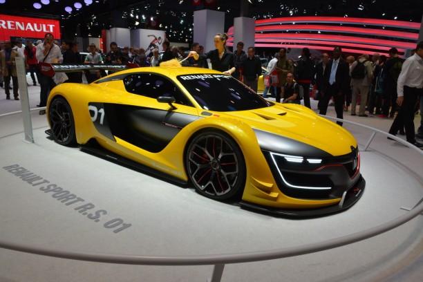 mondial auto 2014 la rs 01 assure le spectacle chez renault l 39 argus