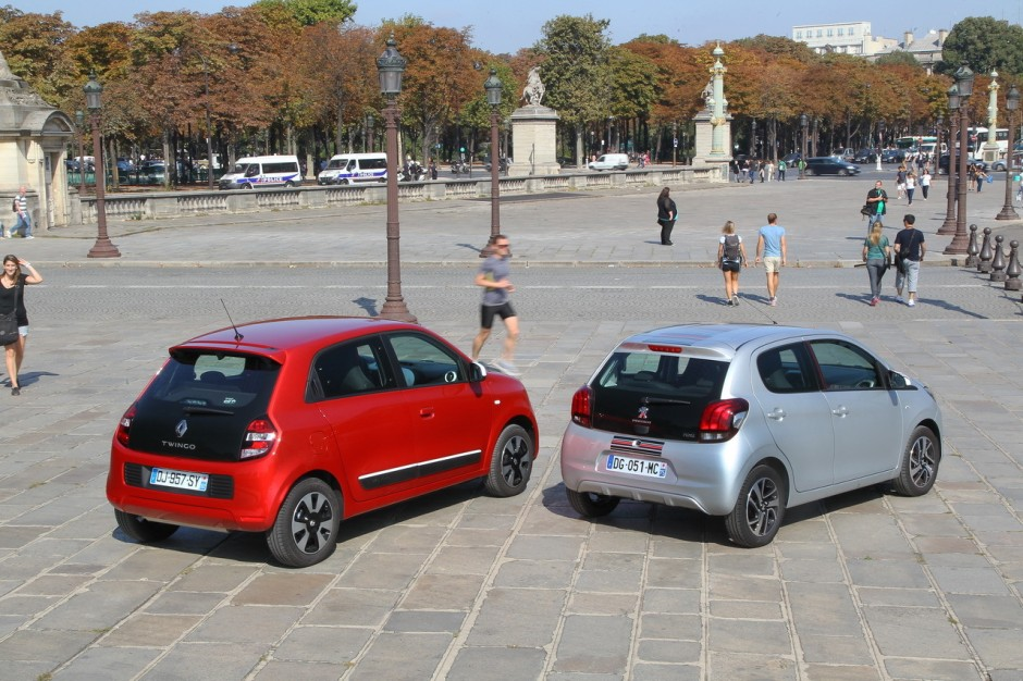 essai comparatif renault twingo sce 70 vs peugeot 108 1 0 vti photo 70 l 39 argus. Black Bedroom Furniture Sets. Home Design Ideas