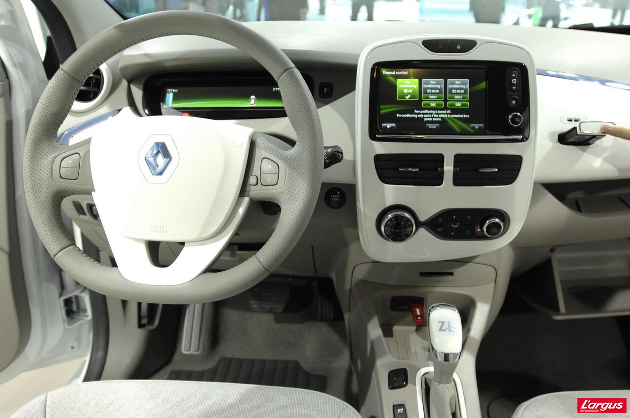 Renault Zoe Bient 244 T En Vente Libre Salon De Gen 232 Ve 2012