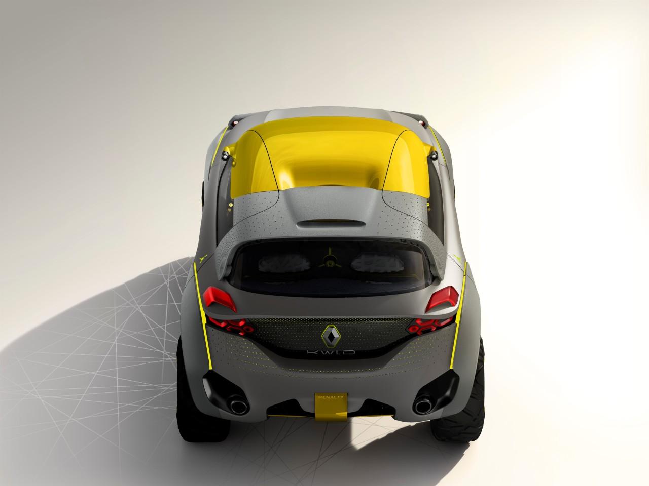 Renault Kwid, un drone de concept car