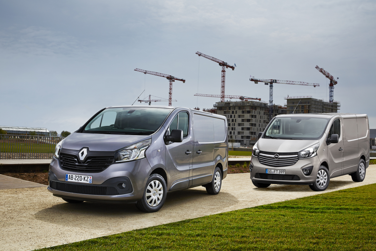 renault et opel pr sentent les trafic et vivaro de 2014 l 39 argus. Black Bedroom Furniture Sets. Home Design Ideas