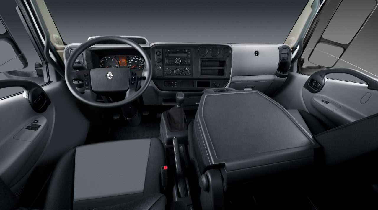 Renault trucks lance son petit camion de 3 5 7 5 tonnes for Renault gamme t interieur