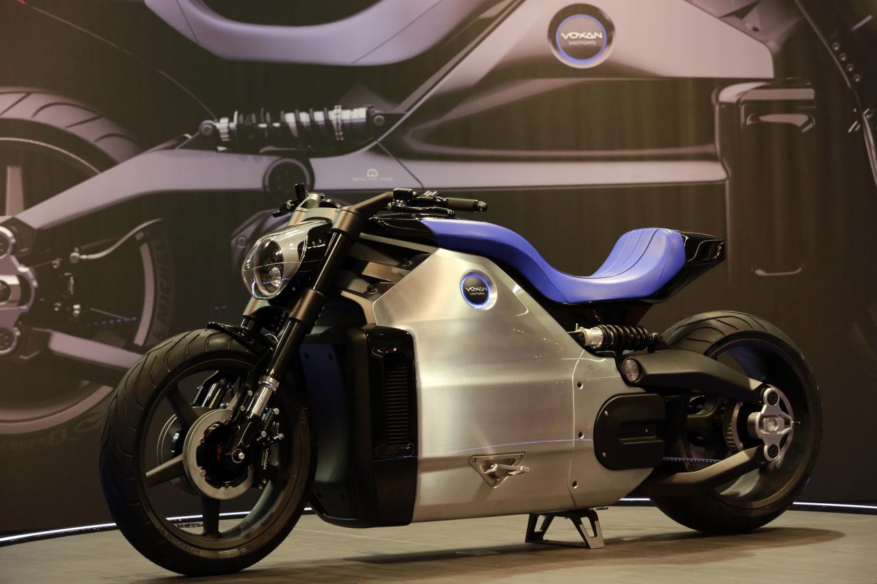 Salon de la moto de paris 2013 voxan wattman l 39 argus for Salon de la photo paris