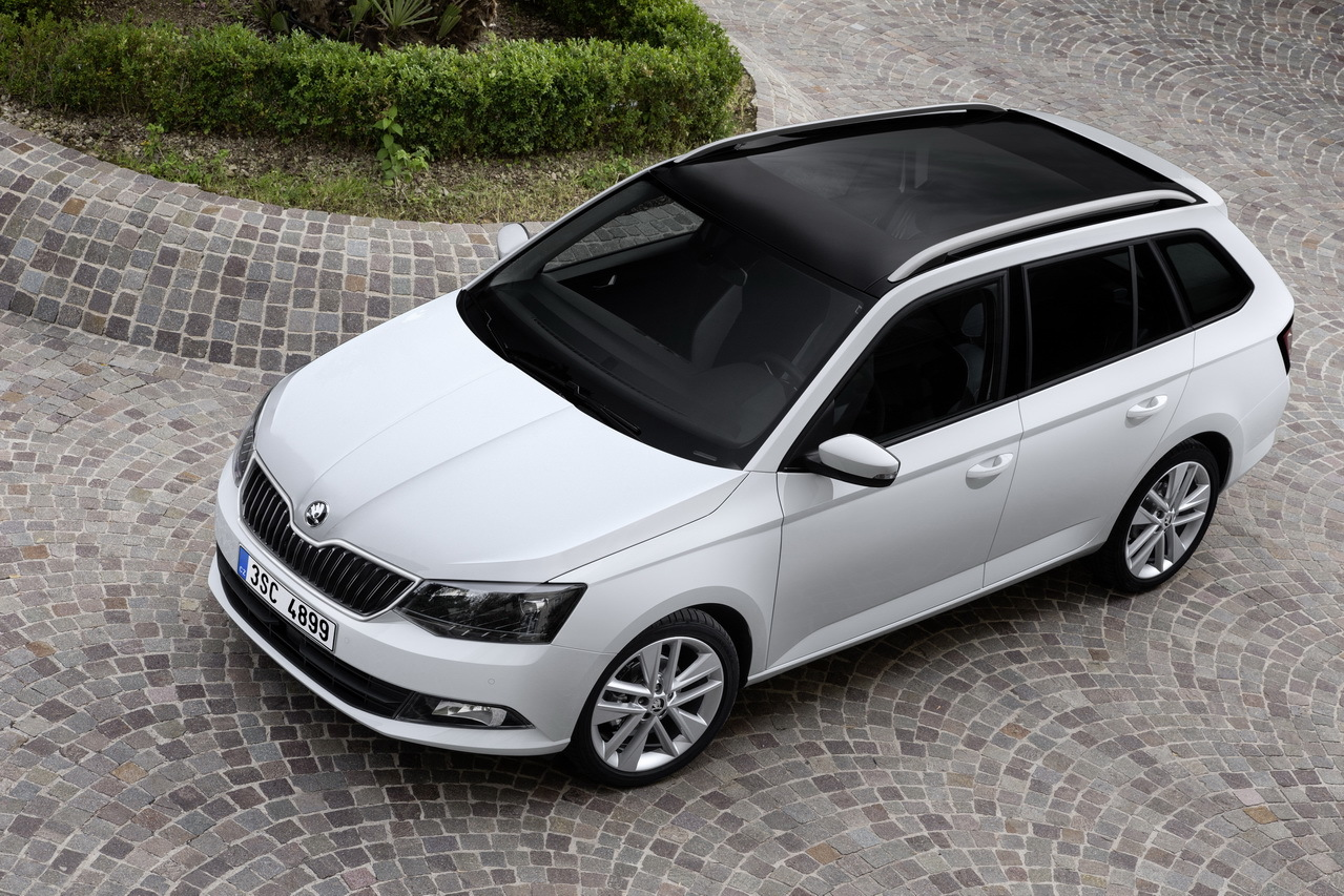 skoda fabia combi 2015 le plus grand des petits breaks l 39 essai photo 4 l 39 argus. Black Bedroom Furniture Sets. Home Design Ideas