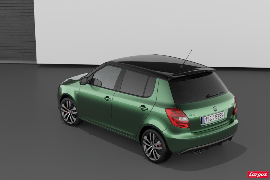 skoda fabia rs 1er essai photo 9 l 39 argus. Black Bedroom Furniture Sets. Home Design Ideas