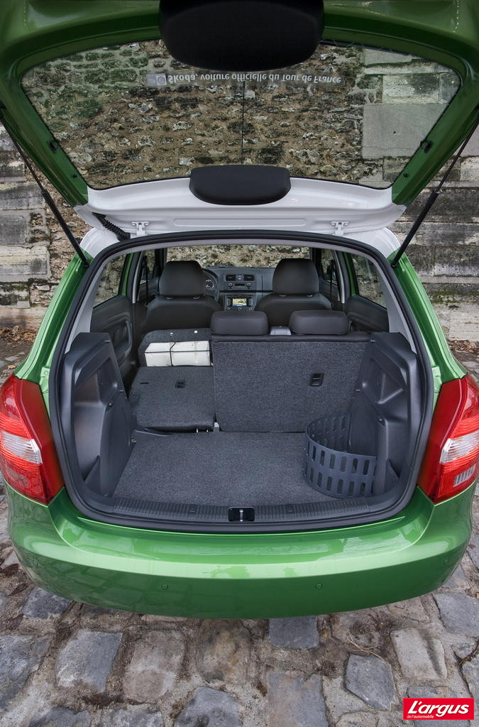 la skoda fabia 1 2 tsi 85 l 39 essai photo 8 l 39 argus. Black Bedroom Furniture Sets. Home Design Ideas