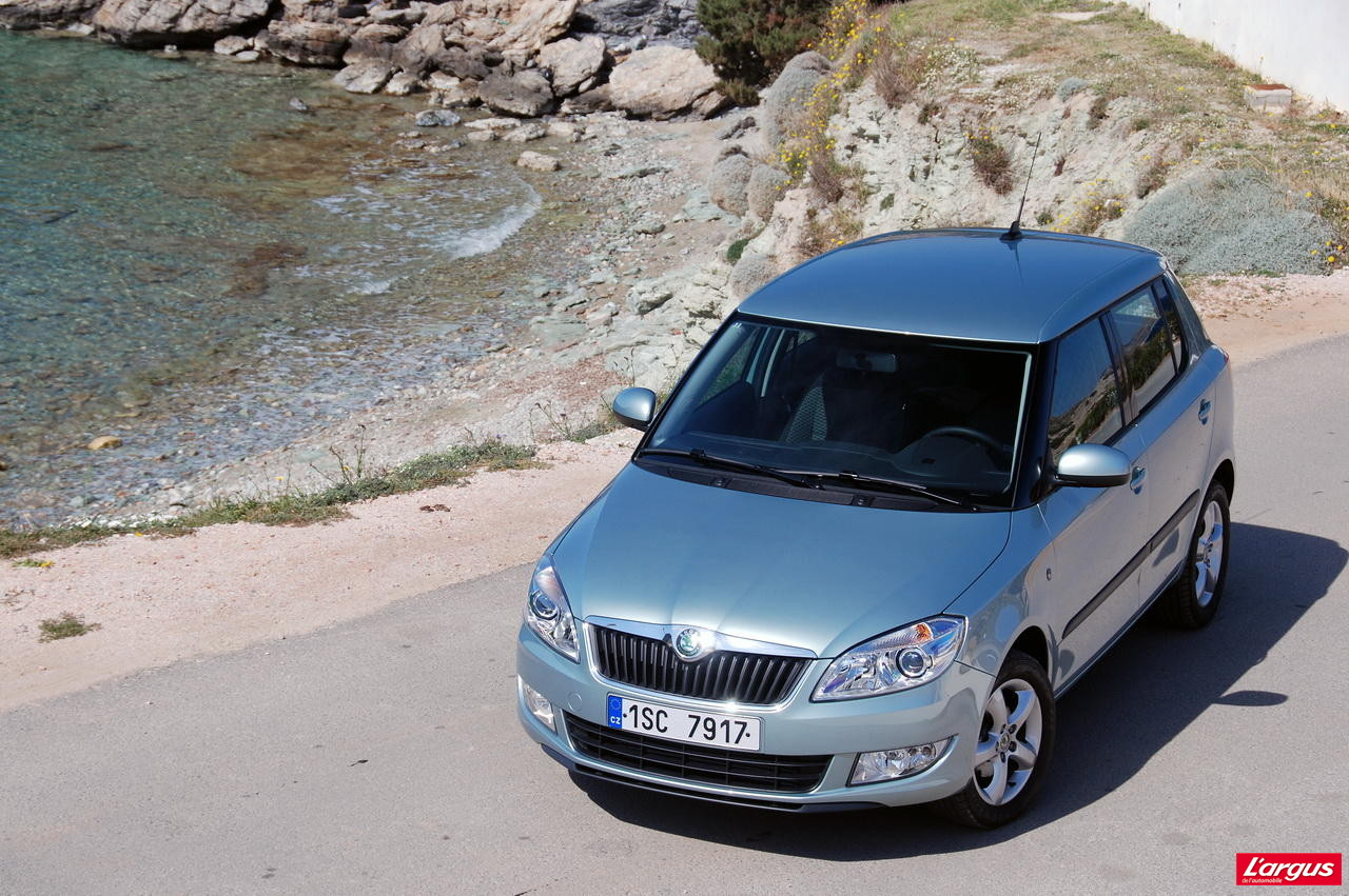la skoda fabia 1 2 tsi 85 l 39 essai photo 1 l 39 argus. Black Bedroom Furniture Sets. Home Design Ideas