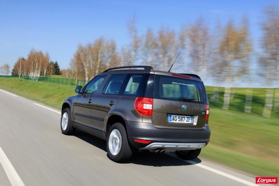 essai du skoda yeti 2 0 tdi 140 4x4 dsg photo 1 l 39 argus. Black Bedroom Furniture Sets. Home Design Ideas