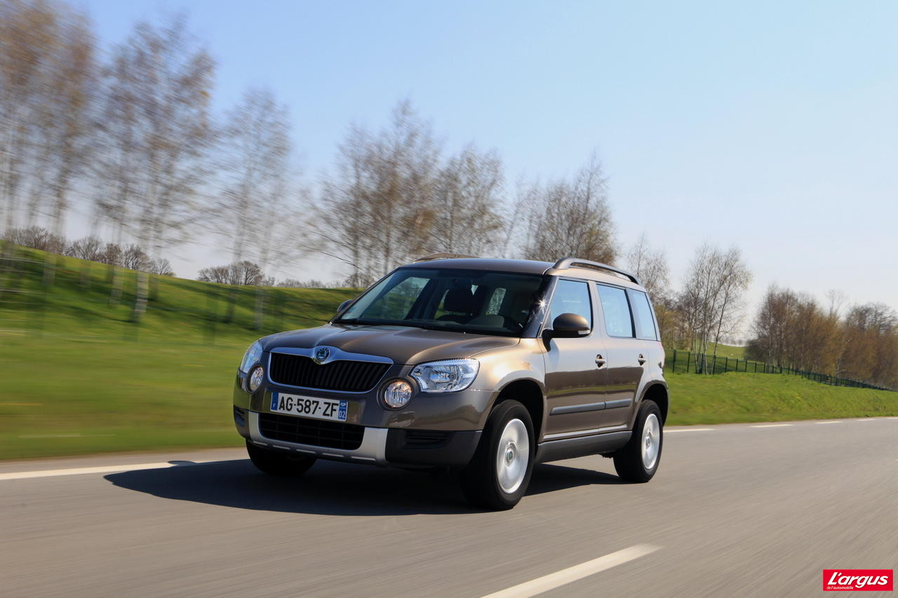essai du skoda yeti 2 0 tdi 140 4x4 dsg photo 3 l 39 argus. Black Bedroom Furniture Sets. Home Design Ideas