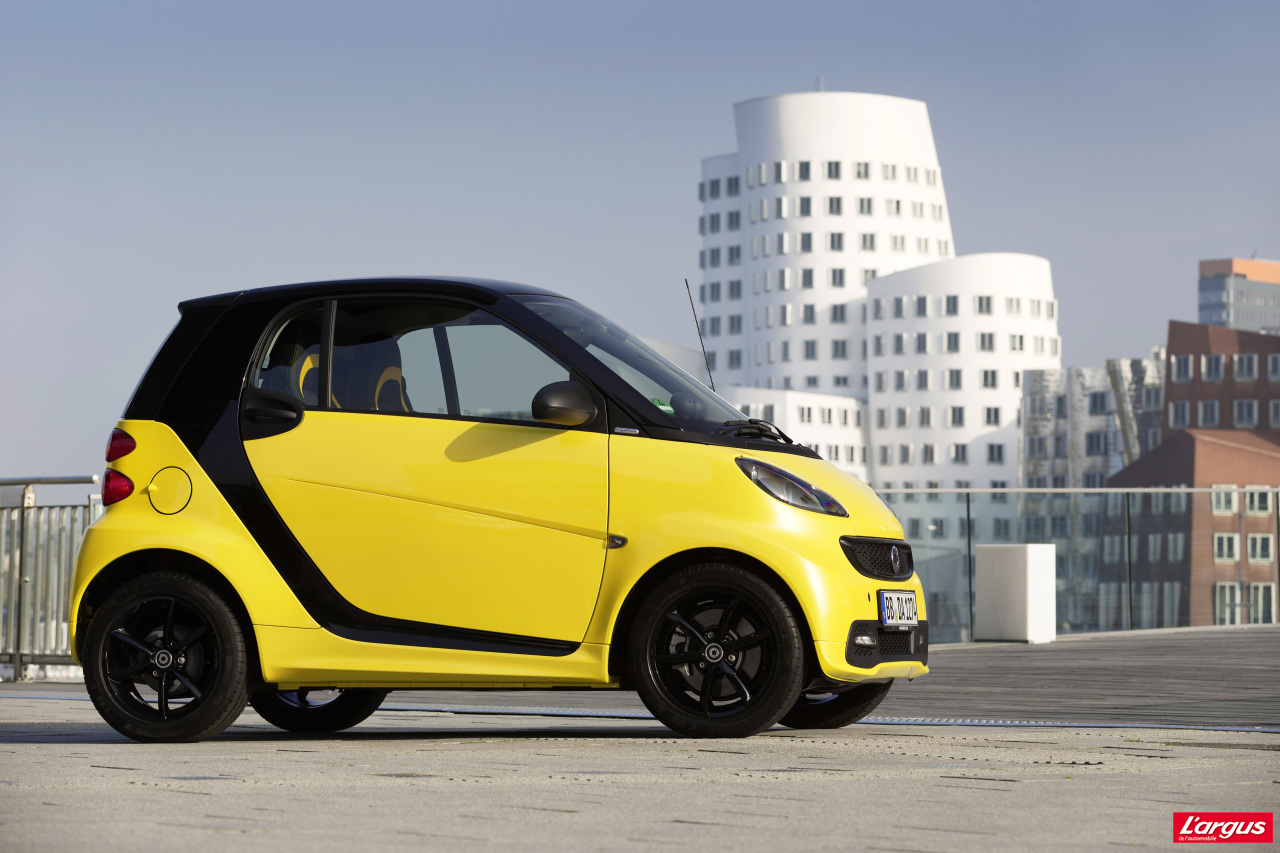 smart fortwo cityflame une s rie limit e 100 exemplaires l 39 argus. Black Bedroom Furniture Sets. Home Design Ideas