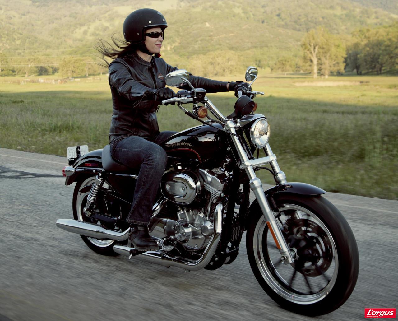 Harley Davidson XL883L Superlow : le mythe