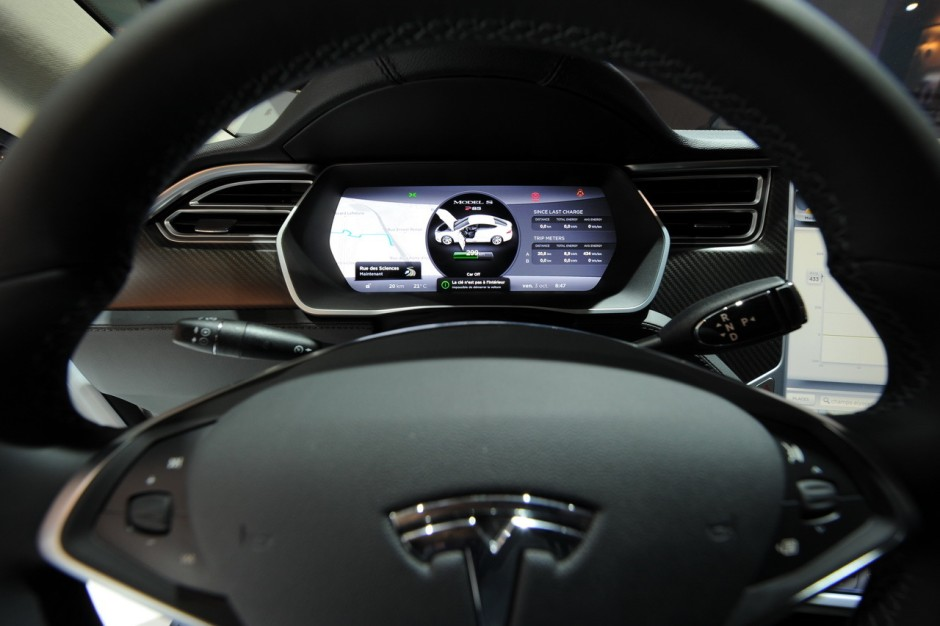 tesla model s la voiture id ale pour les taxis et vtc photo 12 l 39 argus. Black Bedroom Furniture Sets. Home Design Ideas
