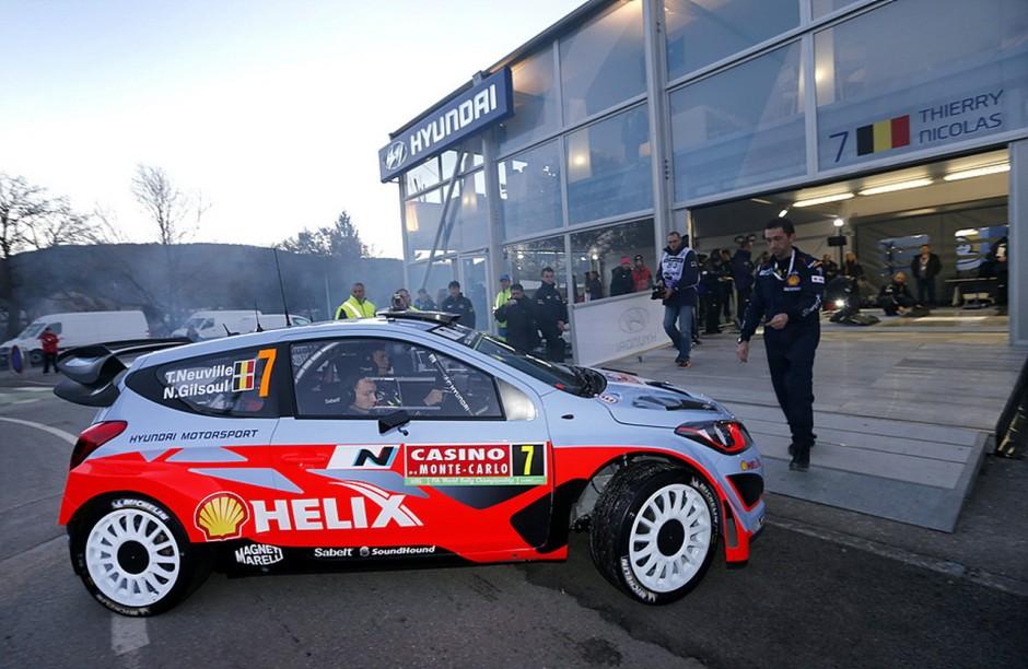 hyundai motorsport d bute gentiment le championnat du monde des rallyes photo 11 l 39 argus. Black Bedroom Furniture Sets. Home Design Ideas