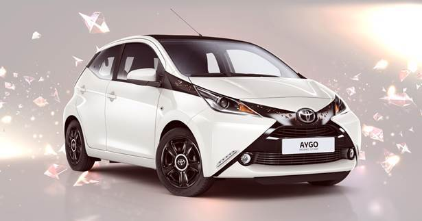 toyota aygo rising star une s rie limit e 200 exemplaires l 39 argus. Black Bedroom Furniture Sets. Home Design Ideas