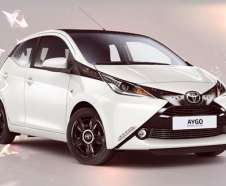 Toyota Aygo Rising Star : une s�rie limit�e � 200 exemplaires