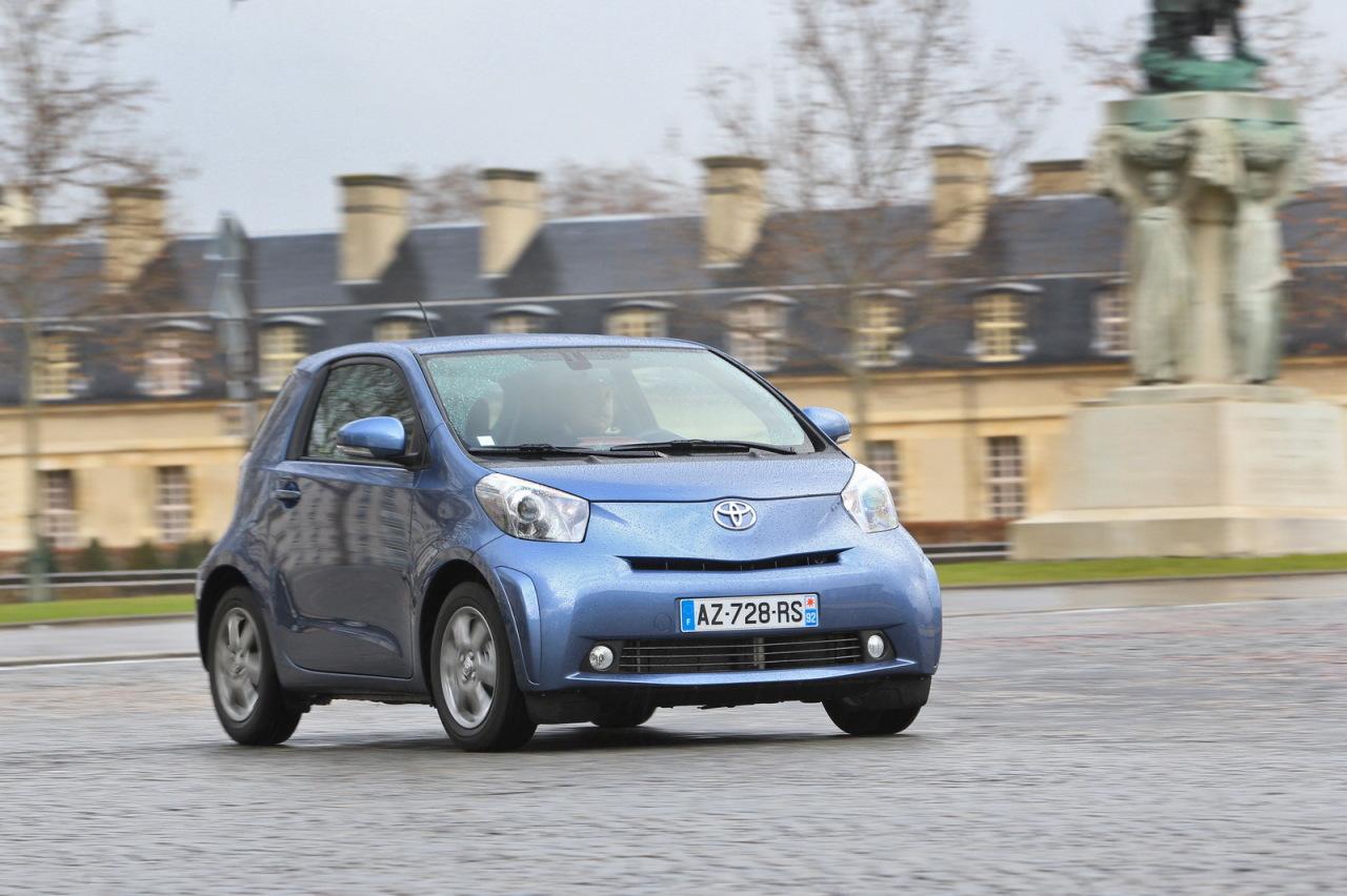 Toyota iQ  arrêt de la commercialisation à la fin 2014