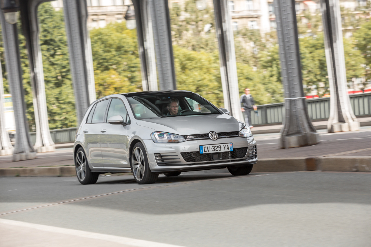 essai volkswagen golf gtd une gti diesel de 184 ch photo 7 l 39 argus. Black Bedroom Furniture Sets. Home Design Ideas
