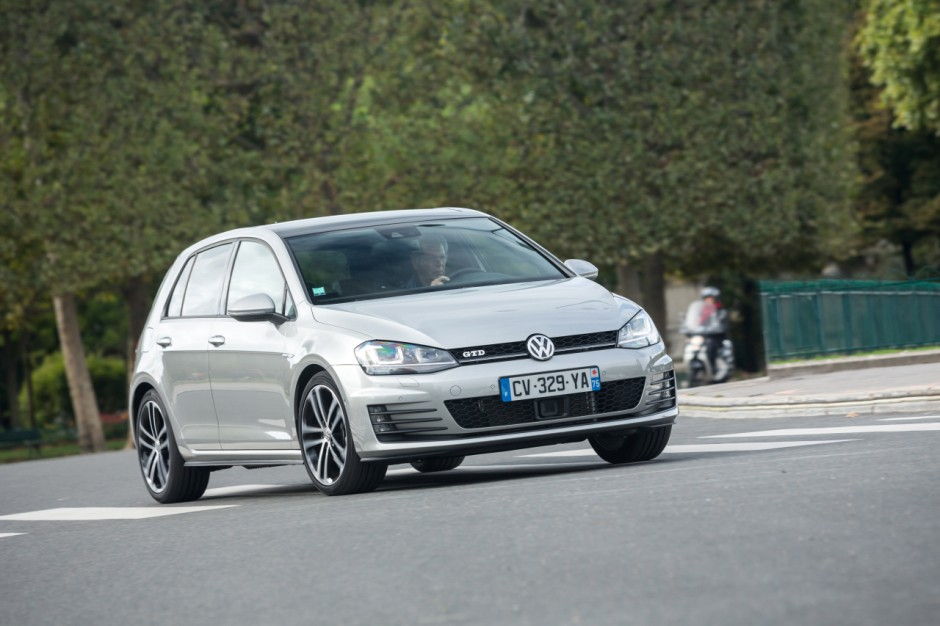 essai volkswagen golf gtd une gti diesel de 184 ch photo 17 l 39 argus. Black Bedroom Furniture Sets. Home Design Ideas