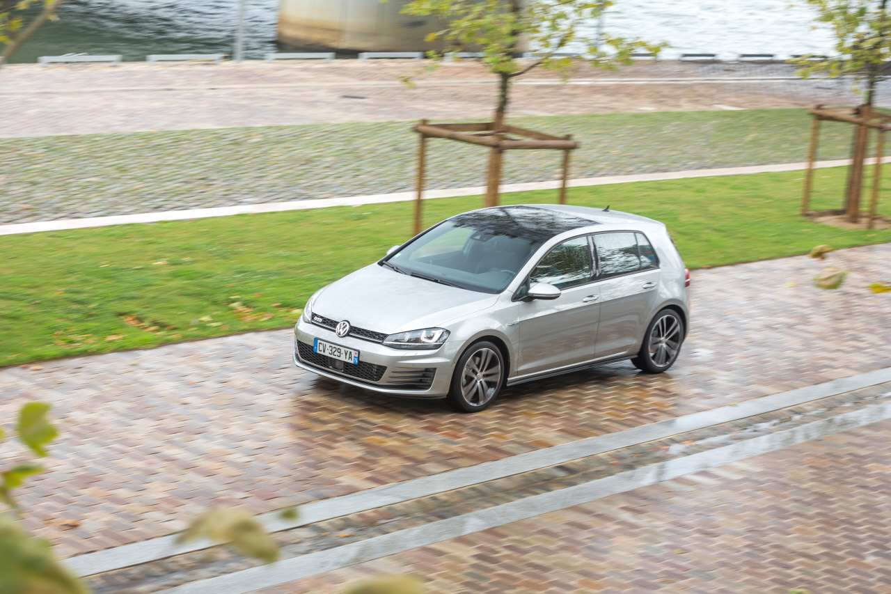 essai volkswagen golf gtd une gti diesel de 184 ch photo 19 l 39 argus. Black Bedroom Furniture Sets. Home Design Ideas