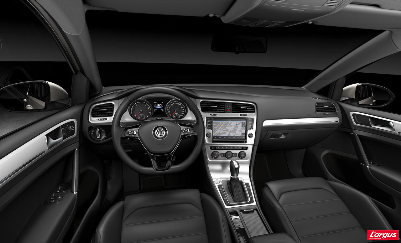 volkswagen golf golf vii vid o exclusive tarifs et motorisations mondial de l 39 auto 2012. Black Bedroom Furniture Sets. Home Design Ideas
