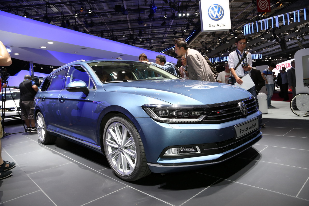 la nouvelle volkswagen passat sw fait le break au mondial. Black Bedroom Furniture Sets. Home Design Ideas