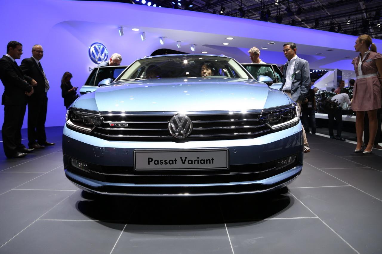 la nouvelle volkswagen passat sw fait le break au mondial de l 39 auto photo 3 l 39 argus. Black Bedroom Furniture Sets. Home Design Ideas