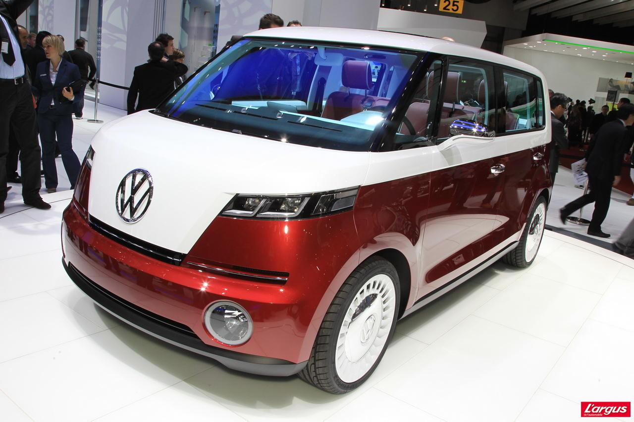 Volkswagen Bulli Le Nouveau Combi Concept Cars Salon