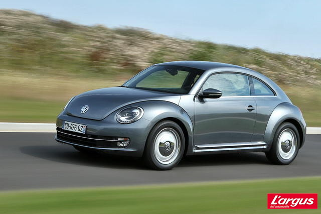 essai volkswagen coccinelle 1 6 tdi craquante m me en diesel l 39 argus. Black Bedroom Furniture Sets. Home Design Ideas