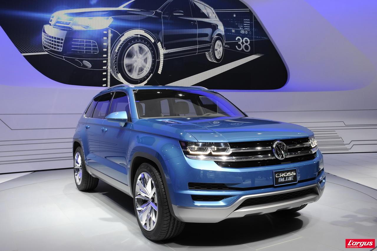 volkswagen cross blue concept touareg plus l 39 argus. Black Bedroom Furniture Sets. Home Design Ideas