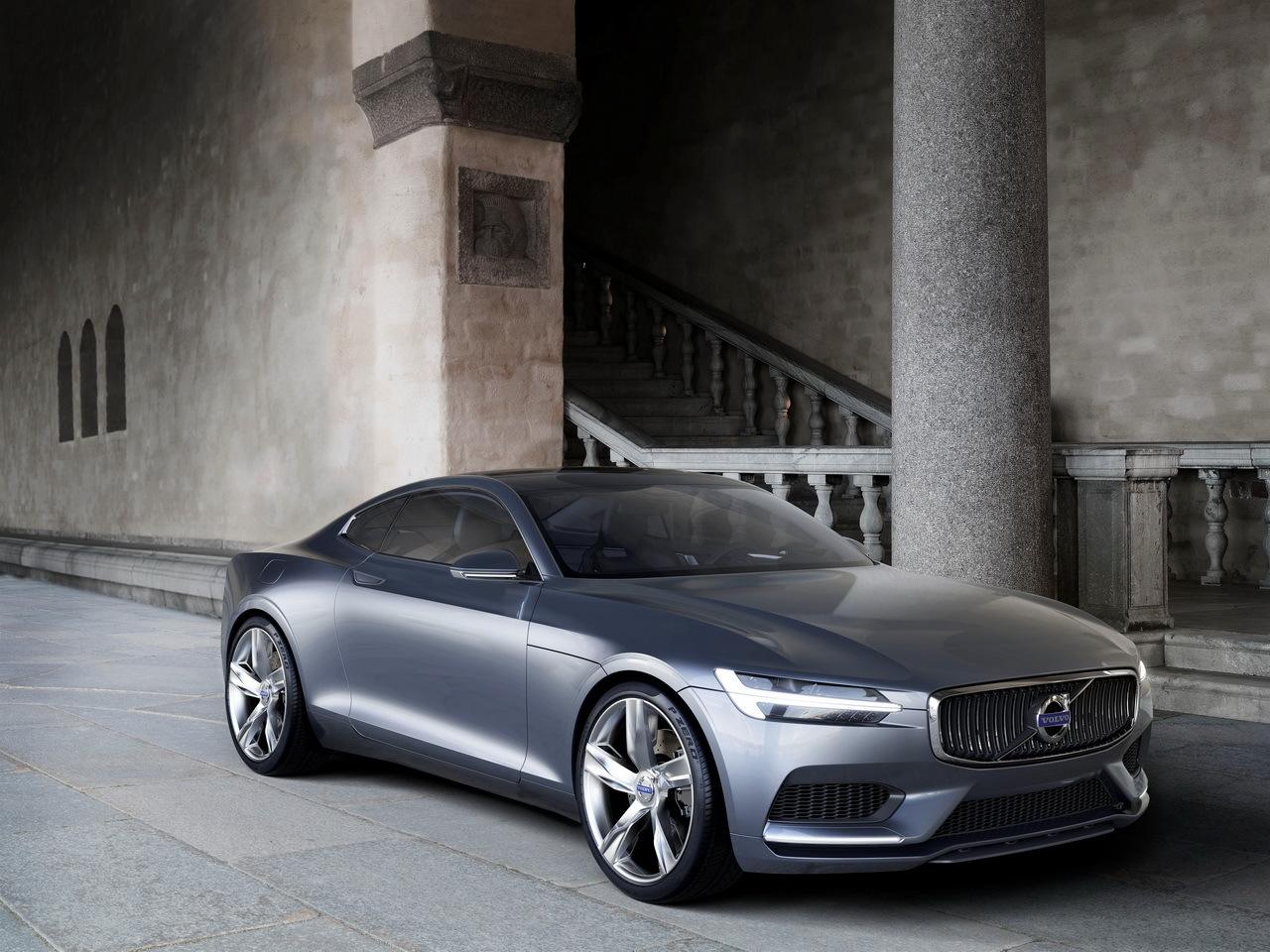 Salon de Francfort 2013 Volvo Concept C Coupe : subtile référence au coupé P1800